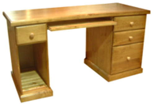 TIMBER COMPUTER DESK + TOWER - 1450(W) X 600(D) - ASSORTED COLOURS