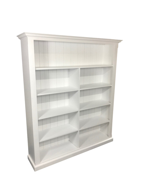 MUDGEE BOOKCASE - 1830(H) x 1590(W) - ASSORTED PAINTED COLOURS