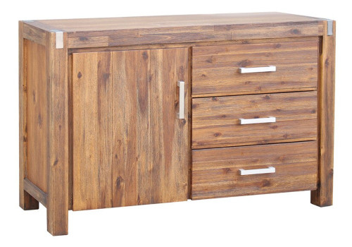MATRIX  BUFFET - SIDEBOARD WITH 1 DOOR / 3 DRAWERS - 1350(W)  - DESERT SAND