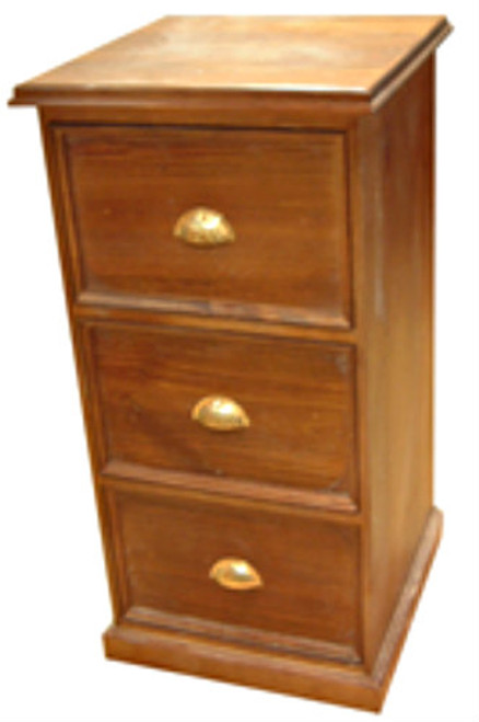 PICTURE FRAME FILING CABINET (AUSSIE MADE) - 3 DRAWERS - ASSORTED COLOURS