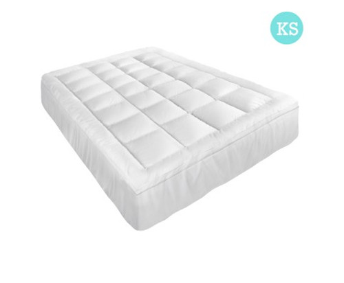 GISELLE  KING SINGLE SIZE MEMORY RESISTANT MATTRESS  TOPPER