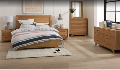 AVANTI  DOUBLE  OR QUEEN  6 PIECE (THE LOT) BEDROOM SUITE - ASSORTED COLOURS