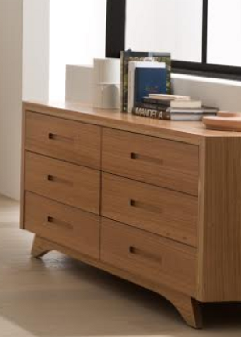AVANTI 6 DRAWER DRESSER - 1500(W) - ASSORTED COLOURS