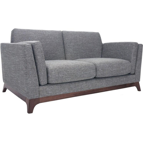 FINN  FABRIC UPHOLSTERED  SOFA - 2  SEATER  - BARRAS