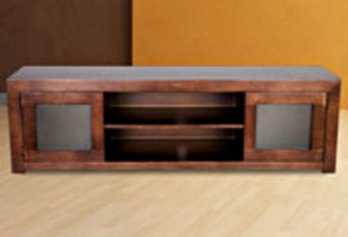 TASMAN RANGE TASSIE OAK LOWLINE TV UNIT WITH 2 DOORS - 440(H) X 1500(W) - ASSORTED COLOURS AVAILABLE