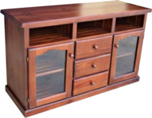 ARNCLIFF LOWLINE TV UNIT WITH 2 DOORS / 3 DRAWERS - 890(H) x 1500(W) - ASSORTED COLOURS