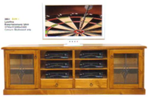 DIM 1 LOWLINE TV UNIT - 740(H) X 2000(W) - ASSORTED COLOURS AVAILABLE