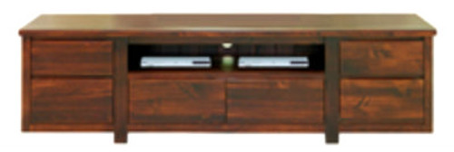 RENZO LOWLINE TV UNIT -520(H) X 1800(W) - ASSORTED COLOURS AVAILABLE
