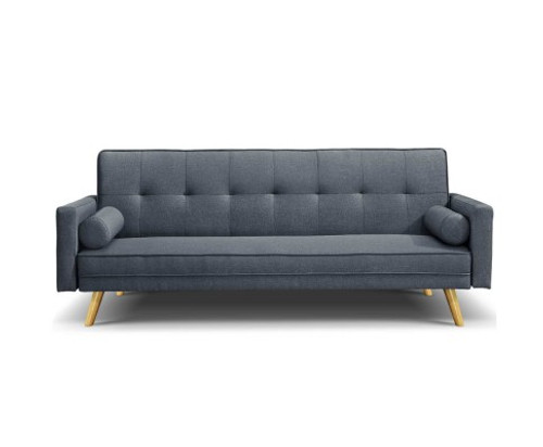 ARTISS 3 SEATER  FABRIC SOFA  - CHARCOAL