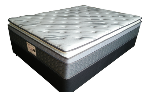 DOUBLE  GRANDEUR   PILLOW TOP POCKET SPRING MATTRESS WITHOUT BASE- MEDIUM FIRM