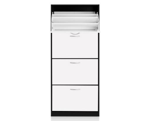 Incredible Stefan 4 Tier Mirror Shoe Cabinet Black Australias Download Free Architecture Designs Grimeyleaguecom