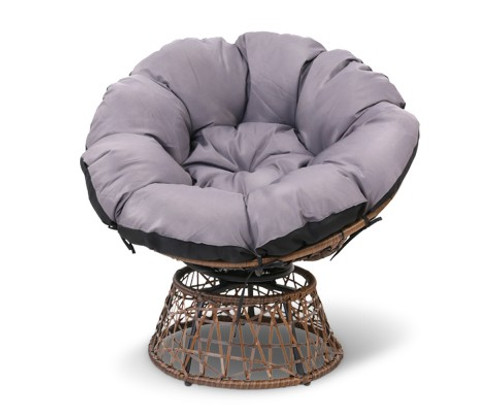 GARDON PAPASAN INDOOR / OUTDOOR CHAIR - BROWN