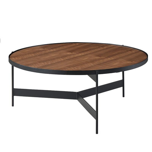 CHIARA COFFEE TABLE -RUSTIC BROWN