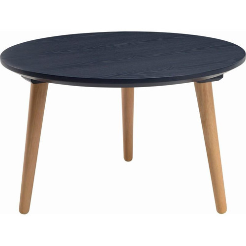 CARISON ROUND  COFFEE TABLE - MARINE BLUE