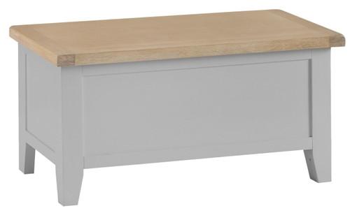 ARBETTA  (TT-BB-W) BLANKET BOX  - 1000(W) - GREY / OAK