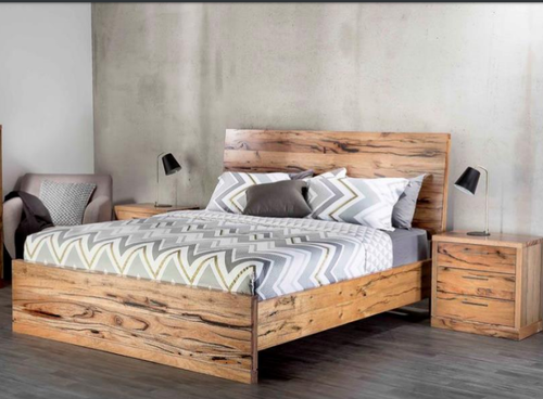 ATLANTA KING 3 PIECE  (BEDSIDE)  BEDROOM SUITE - (MODEL-1-12-9-14-7-1) - AS PICTURED