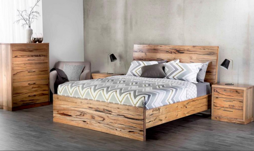 ATLANTA KING  6  PIECE (THE LOT) MARRI  BEDROOM SUITE - (MODEL-1-12-9-14-7-1) - AS PICTURED