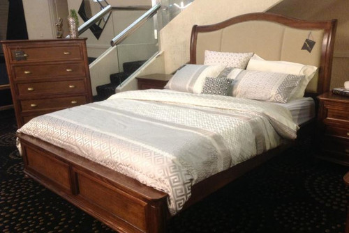 LLOYD  QUEEN   6  PIECE (THE LOT)  BEDROOM SUITE -(MODEL-1-14-14-1-2-5-12-12-5) - AS PICTURED