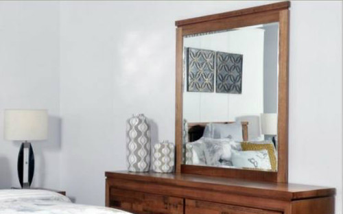 BERTROSE - 1040(H) X 960(W) DRESSER MIRROR ONLY - (MODEL:3-1-18-12-9-19-12-5) - AS PICTURED