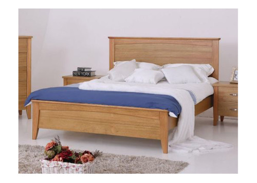 DOUBLE  MURO  HARDWOOD BED FRAME - (MODEL:3-15-19-20-1)  -  AS PICTURED
