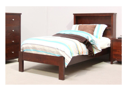 SINGLE THERON BOOKEND BED  - (MODEL:2-9-12-12-29) - AS PICTURED