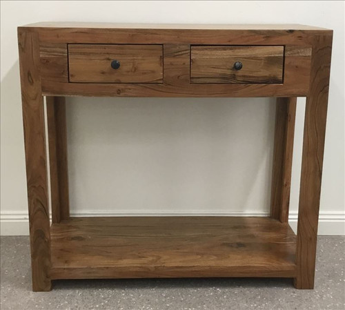 ANDREW  SOLID TIMBER  CONSOLE TABLE   -  NATURAL