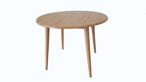CHARLIE ROUND 1000 DINING TABLE - NATURAL