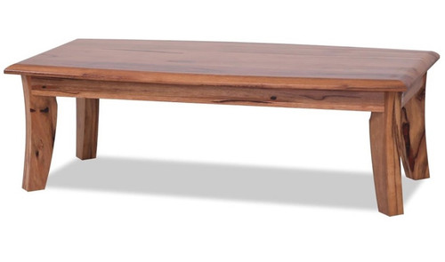 SOPRANO MARRI TIMBER COFFEE TABLE - 450(H) X 1400(W) X 700(D) - NATURAL FINISH