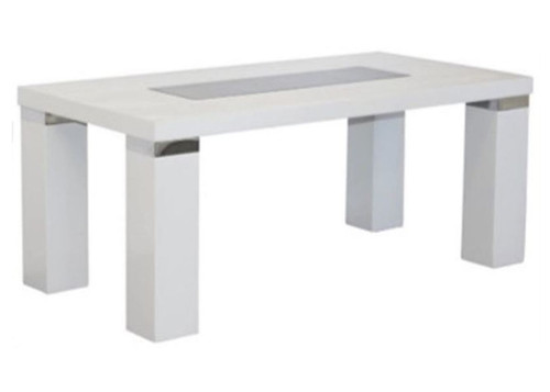 CASSIDY COFFEE  TABLE  - HIGH GLOSS WHITE