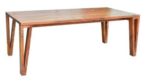 OSKAR  2100(L) RECTANGULAR DINING TABLE - NATURAL