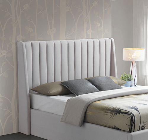 KIDMAN KING FABRIC HEADBOARD  ONLY - OATMEAL
