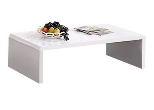 ADAH RECTANGULAR COFFEE  TABLE - 1200(W) X 600(D) - GLOSS  WHITE