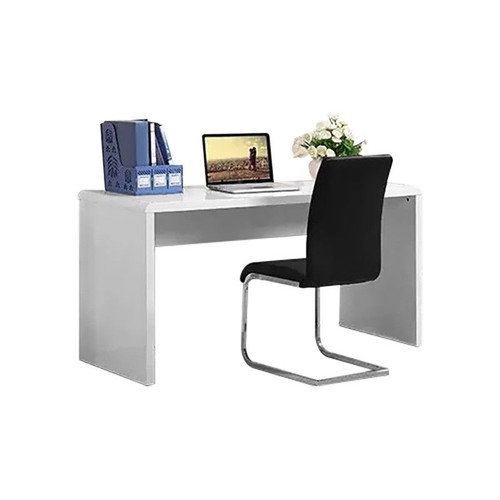 ADAH WRITING DESK  ONLY -  1480(W) X 600(D) - HIGH  GLOSS  WHITE