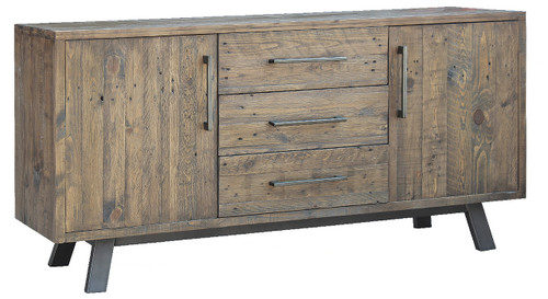 PATERSON SIDEBOARD - BUFFET WITH 2 DOORS / 3 DRAWERS - 1700(W) X 450(W)  - HERITAGE WHARF
