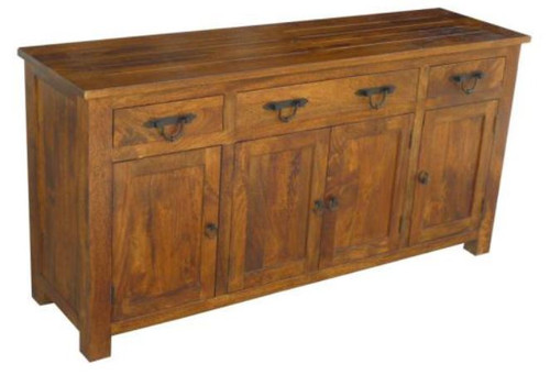 ANTICA  4 DOOR / 3 DRAWER SIDEBOARD - BUFFET  - AS PICTURED