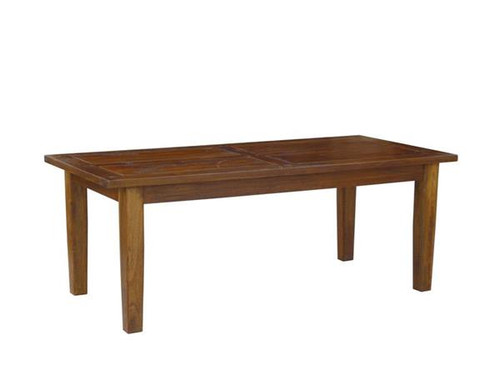 ANTICA  RECTANGULAR  TIMBER DINING TABLE - 2100 X 1000 - LIGHT HONEY