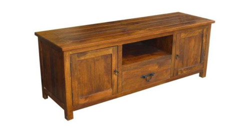 ANTICA TV STAND WITH  2 DOORS / 1  DRAWER - HONEY