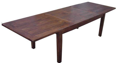 ANTICA RECTANGULAR EXTENSION DINING TABLE - 2100/3100 x 1000 - LIGHT HONEY