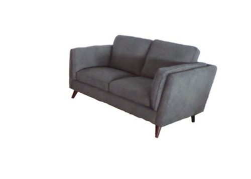 COPENHAGEN  2 SEATER FABRIC UPHOLSTERED SOFA - #31 CHARCOAL