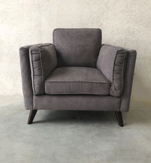 COPENHAGEN ARM CHAIR  -#31 CHARCOAL