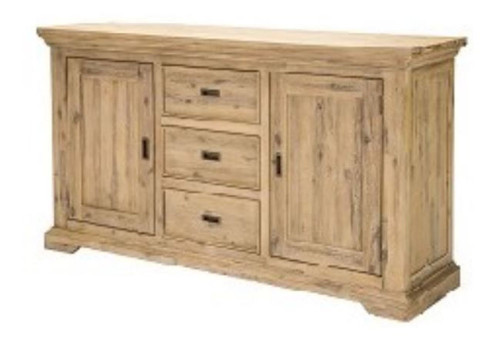 HAMPTON HARDWOOD BUFFET WITH 2 DOOR / 3 DRAWERS   -  PASSADENA SANDBLAST