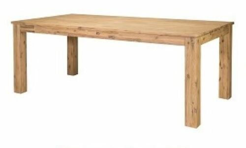 HAMPTON HARDWOOD RECTANGULAR DINING TABLE - 2100(L) - PASSADENA SANDBLAST