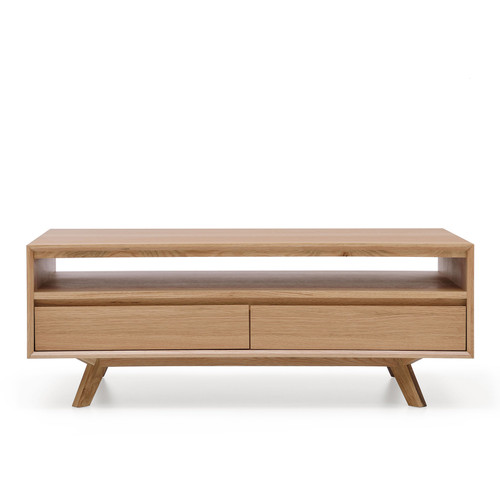 ALISON  SCANDINAVIAN  2  DRAWER COFFEE  TABLE  - NATURAL