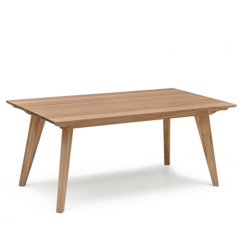 ALISON 100(L) SCANDINAVIAN RECTANGULAR DINING TABLE  - NATURAL