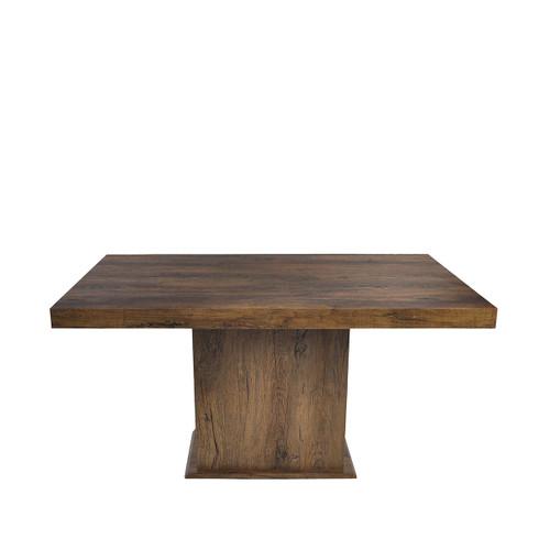 DANIELLE  RECTANGULAR DINING TABLE 1500(L) X 900W) - ANTIQUE OAK