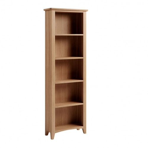 ELEGANCE OAK LARGE BOOKCASE WITH 3 SHELVES   (7-1-15) - LIGHT OAK