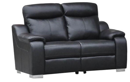 BALMAIN 2 SEATER  PLUSH AIR FABRIC SOFA -1640L X 950W- GRAPHITE