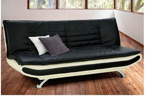 CAROLINA   3 SEATER LEATHERETTE  SOFA BED  -  2 TONE