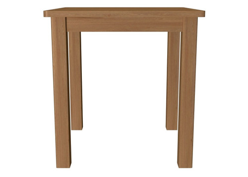 EMINENCE SQUARE OAK DINING TABLE (18-1-15) - 750(H) X 750(L)-   RUSTIC OAK