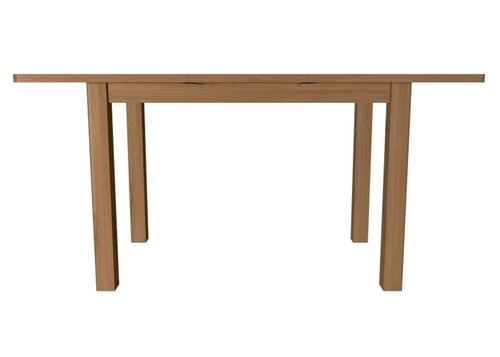 EMINENCE RECTANGULAR EXTENSION OAK DINING TABLE (18-1-15) - 780(H) X 1200(L)-   RUSTIC OAK